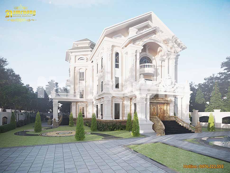 xây biệt thự vườn