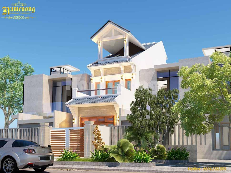 xây biệt thự mini trọn gói Tây Ninh