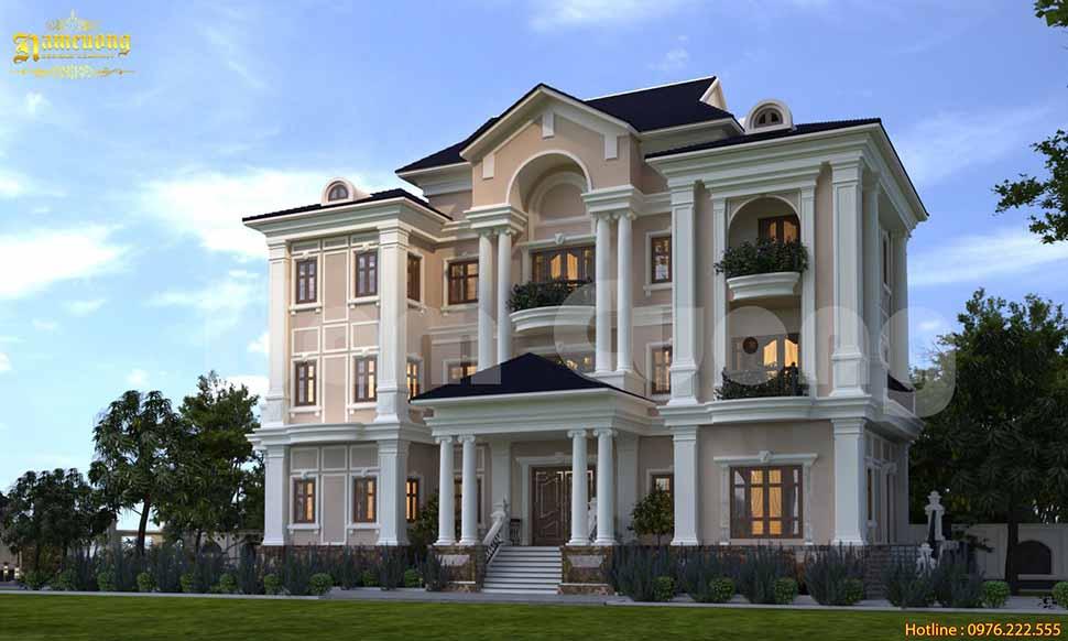 nhà xây trọn gói đẹp