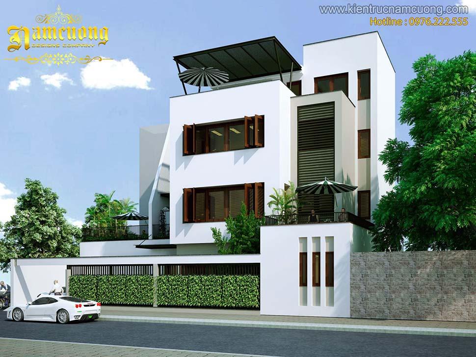 nhà 3 tầng hiện đại