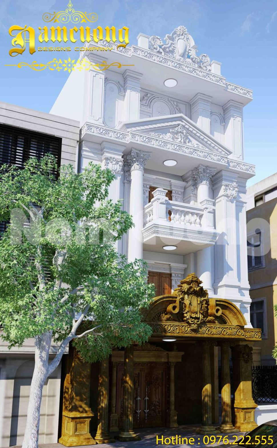 nhà phố cổ điển tại tiền giang