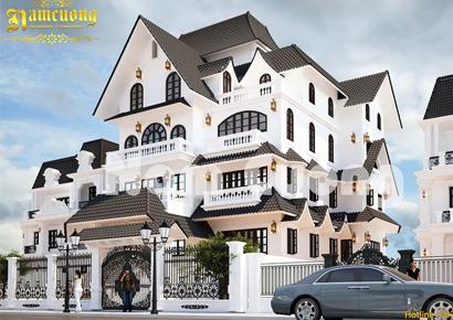 biệt thự đẹp 3 tầng